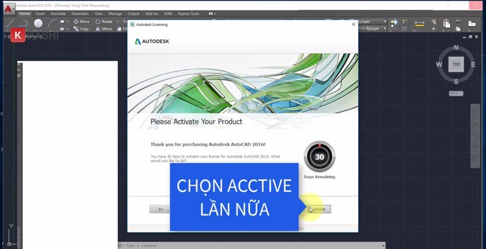 """Chọn """"Active"""""""